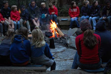 How can we develop new ways to have firelight conversations? Credit: Simon Barnes
